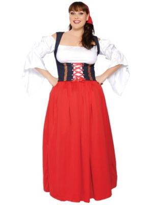Sexy Swiss Miss Beer Lady Adult Plus Costume