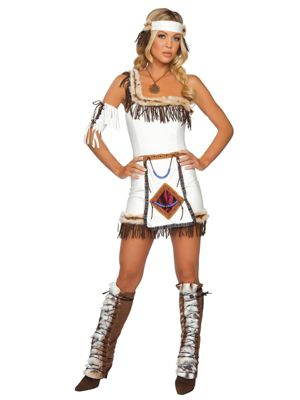 Adult Sexy Indian Chief Costume
