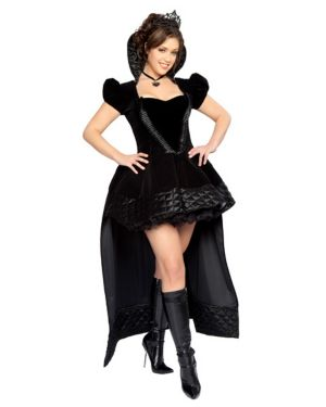Sexy Wicked Queen Deluxe Adult Plus Costume