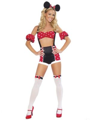 Sexy Adult Pinup Mouse Costume