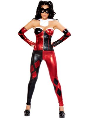 Sexy Jester Deluxe Women's Costume