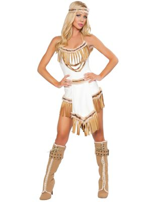 Adult Sexy Indian Huntress Costume