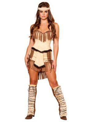 Sexy Cherokee Indian Women's Costume