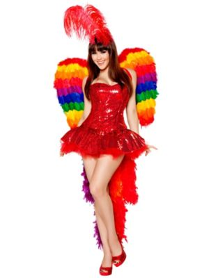 Sexy Parrot Playmate Deluxe Women's Costume