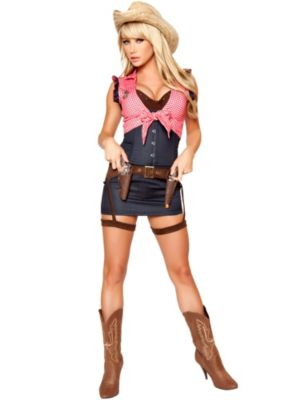 Sexy Cowgirl Cutie Deluxe Women's Costume