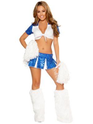 Sexy Charming Cheerleader Women's Costume
