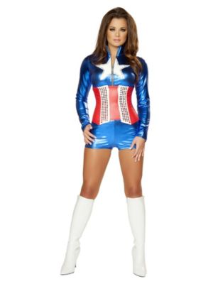 Adult Sexy Deluxe All American Costume