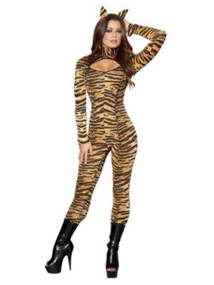 Adult Sexy Sassy Tigress Costume