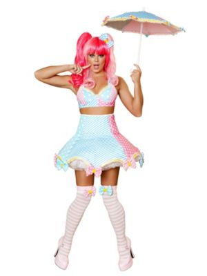 Adult Sexy Lady Laughter Deluxe Clown Costume