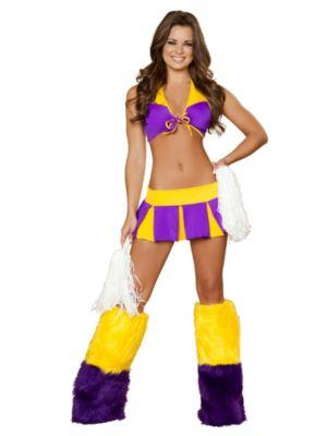 Adult Sexy Cheerful Cutie Cheerleader Costume