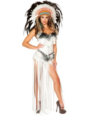 Sexy Adult Cherokee Mistress Costume