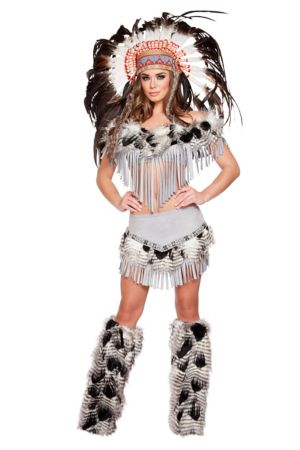 Sexy Adult Lusty Indian Maiden Costume