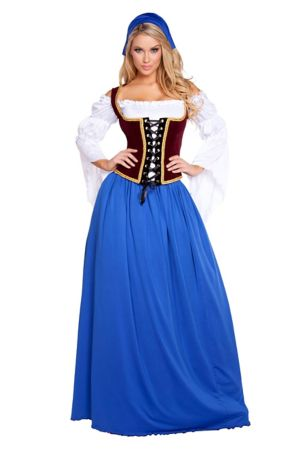 Sexy Adult Beautiful Bar Maiden Costume