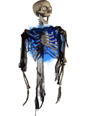 """Color Changing Light-Up 33.5"""" Zombie Torso"""