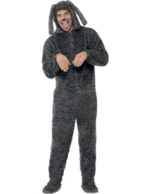 Animals Costumes Adults Adult Fluffy Dog Costume