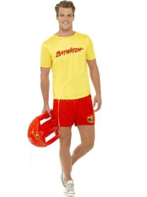 Mens Baywatch Halloween Costume Baywatch Mens Beach Costume