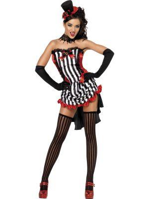 Sexy Madame Vamp Womens Costume
