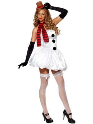 Sexy Snowman Women's Costume