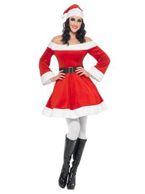 Adult Miss. Santa Costume