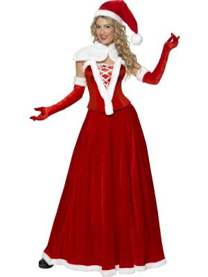 Adult Romantic Miss Santa Costume