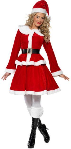 Women's Miss Santa Costume