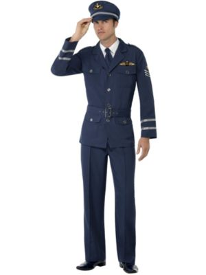 Adult WW2 Air Force Captain Costume