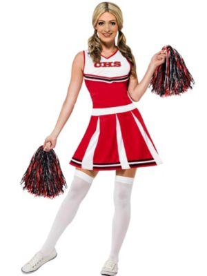 Sexy Adult Cheerleader Costume
