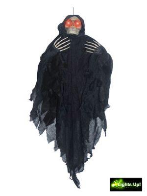 "36"" Hanging Light Up Black Reaper"