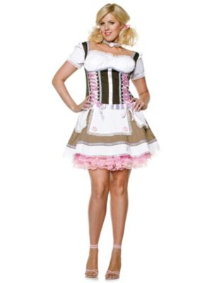 Heidi Ho Sexy Plus Size Adult Beer Girl Costume