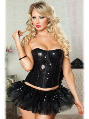 Adult Prima Ballerina Sequin Tiered Tutu