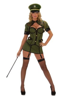 Adult Deluxe Sexy Army General Costume