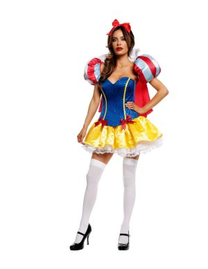 Adult Deluxe Sexy Signature Snow White Costume