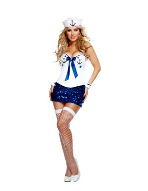 Adult Deluxe Sexy Signature Sailor Costume