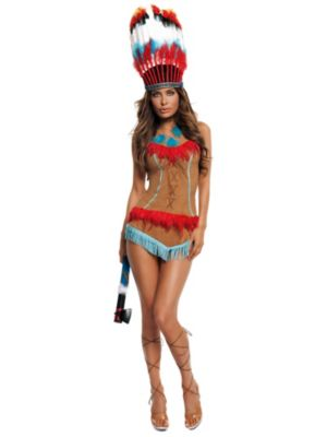 Sexy Adult Indian Princess Costume