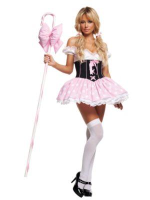 Adult Sexy Little Bo-Peep Costume