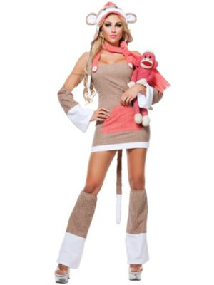 Sexy Adult Monkey Business Costume