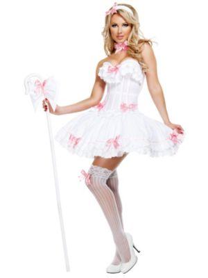 Adult Deluxe Sexy Bo Peep Carousel Costume