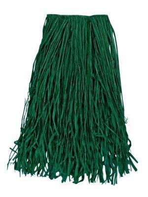 Adult Green Raffia Grass Skirt