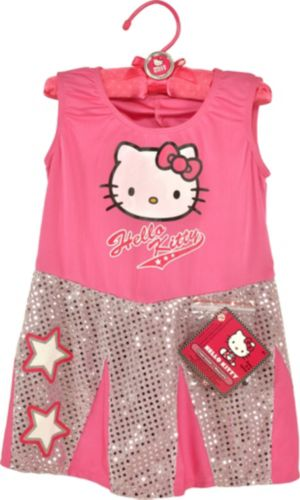 Hello Kitty Cheerleader Dress Up Set