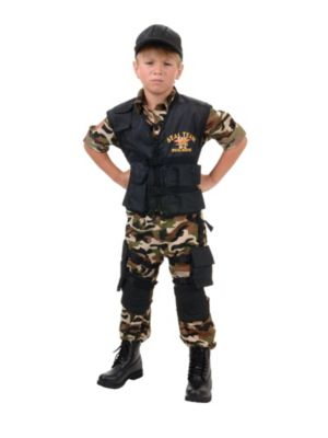 Child Deluxe Navy Seal Costume