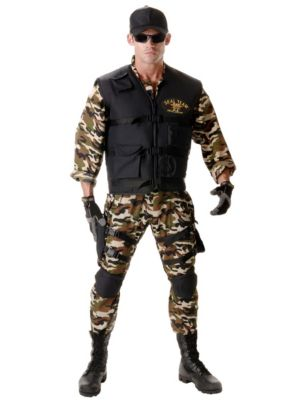 Adult Deluxe Navy SEAL Costume