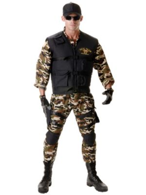 Adult Deluxe Navy SEAL XX-Large Costume