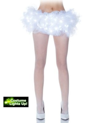 Adult White Light Up Tutu