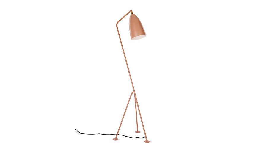 gubi grasshopper floor lamp salmon lighting modern dwr. Black Bedroom Furniture Sets. Home Design Ideas