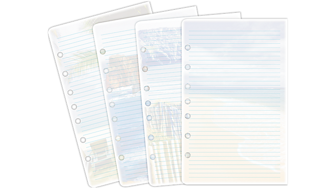 Day-Timer® Coastlines® Note Pads Desk Size (13188) - Planner Note Pages