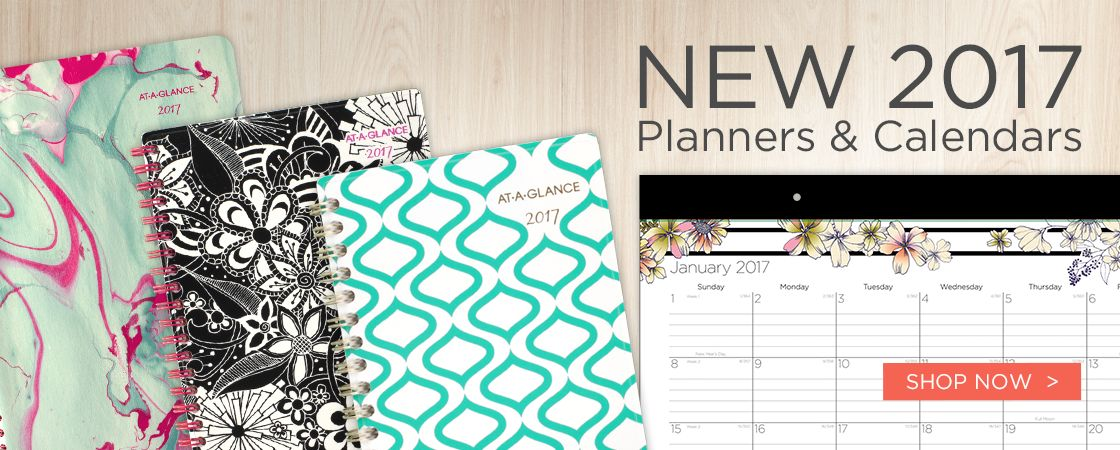 NEW! 2017 Fashion Planners