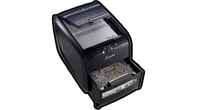 Swingline® Stack-and-Shred™ 60X Hands Free Shredder (1757572) - Personal Shredders