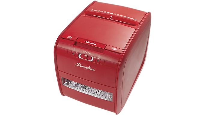 Swingline® Stack-and-Shred? 60X Auto Feed Personal Shredder (1757579) - Personal Shredders