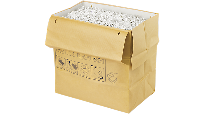Swingline® 19 Gallon Recyclable Paper Shredder Bags (1765025) - Shredding Supplies