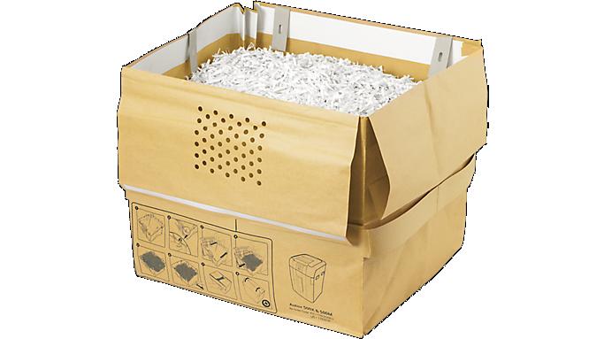 Swingline® 21 Gallon Recyclable Paper Shredder Bags (1765030) - Shredding Supplies